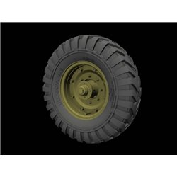 PANZER ART RE35-612 1/35 Fordson WOT 6 Road wheels (Dunlop)