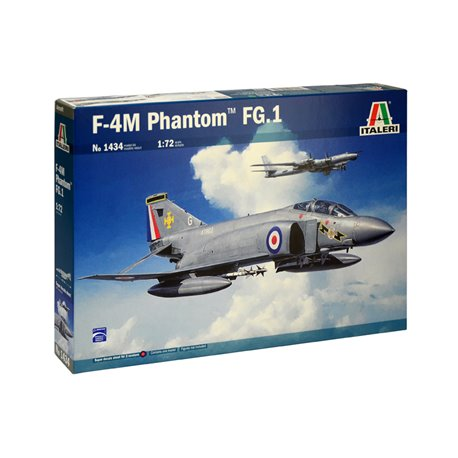 ITALERI 1434 1/72 McDonnell Douglas FG.1 Phantom + Super Decal