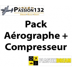 Pack Aérographe + Compresseur