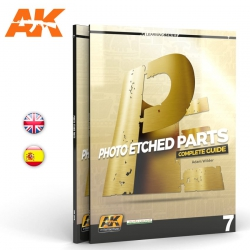 AK INTERACTIVE AK244 LEARNING 07: PHOTOETCHED PARTS English
