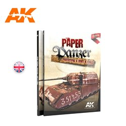 AK INTERACTIVE AK246 PAPER PANZER: PROTOTYPES & WHAT IF TANKS Anglais