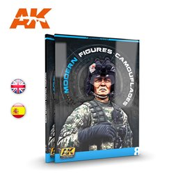 AK INTERACTIVE AK247 LEARNING 08: MODERN FIGURES CAMOUFLAGES English