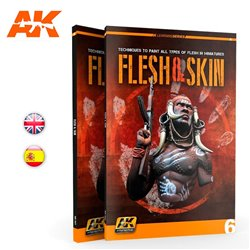 AK INTERACTIVE AK241 LEARNING 06: FLESH & SKIN English