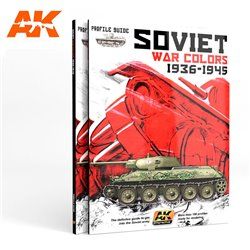 AK INTERACTIVE AK270 SOVIET WAR COLORS PROFILE GUIDE English