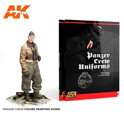 AK INTERACTIVE AK272 LEARNING 02: PANZER CREW UNIFORMS PAINTING GUIDE English