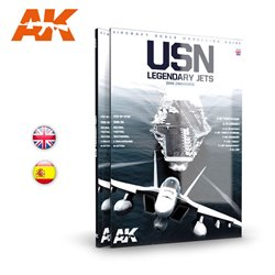 AK INTERACTIVE AK278 USN LEGENDARY JETS English