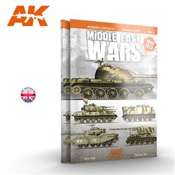 AK INTERACTIVE AK284 MIDDLE EAST WARS 1948-1973 VOL.1 PROFILE GUIDE English