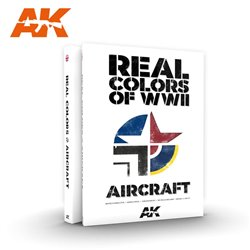 AK INTERACTIVE AK290 REAL COLORS OF WWII FOR AIRCRAFT English
