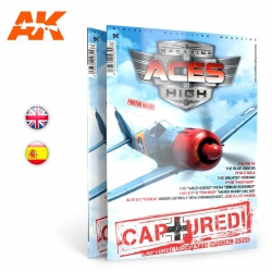AK INTERACTIVE AK2914 ACES HIGH 08: CAPTURED! English