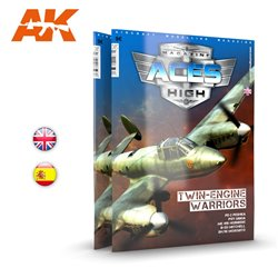 AK INTERACTIVE AK2929 ACES HIGH 14: TWIN-ENGINE WARRIORS English
