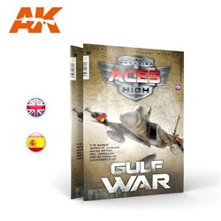 AK INTERACTIVE AK2927 ACES HIGH 13: THE GULF WAR English