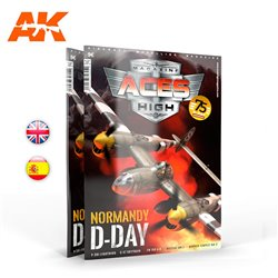 AK INTERACTIVE AK2933 ACES HIGH 16: NORMANDY D-DAY English