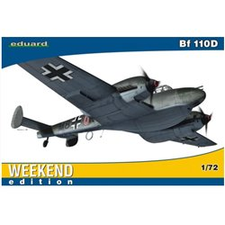 EDUARD 7420 1/72 Bf 110D for Weekend