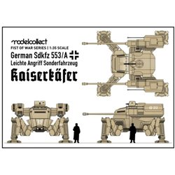 MODELCOLLECT UA35004 1/35 Fist of War German WWII sdkfz 553/A medium fighting Mech