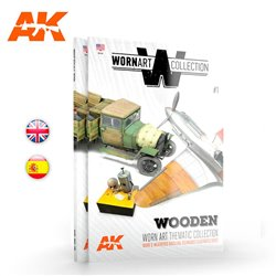 AK INTERACTIVE AK4901 WORN ART COLLECTION 01 – WOODEN Anglais