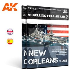 AK INTERACTIVE AK895 MODELLING FULL AHEAD 2 NEW ORLEANS CLASS Anglais