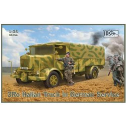 IBG MODELS 35054 1/35 3Ro Italian Truck in German Service