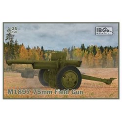 IBG MODELS 35058 1/35 M1897 75mm Field Gun