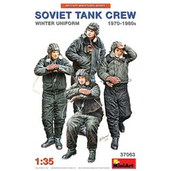 MINIART 37063 1/35 Soviet Tank Crew 1970-1980s. Winter Uniform