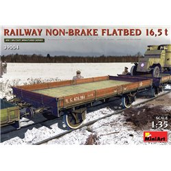 MINIART 39004 1/35 Railway Non-brake Flatbed 16,5 t