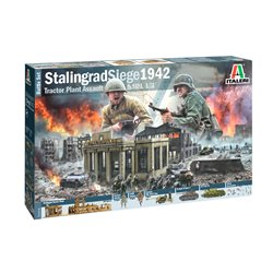 ITALERI 6193 1/72 Stalingrad Siege 1942 Tractor Plant Assault Battle Set