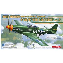 MENG LS-010 1/48 North American P-51D/K 8th Air Force