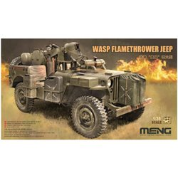 MENG VS-012 1/35 WASP Flamethrower Jeep