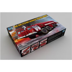 TRUMPETER 01074 1/35 Airport Fire Fighting Vehicle AA-60 (MAZ-7310) 160.01