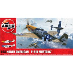 AIRFIX A05138 1/48 North American P-51D Mustang