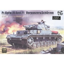 BORDER MODEL BT-003 1/35 Pz.Kpfw.IV Ausf.F1