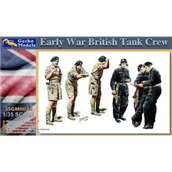 GECKO MODELS 35GM0022 1/35 Early War British Tank Crew