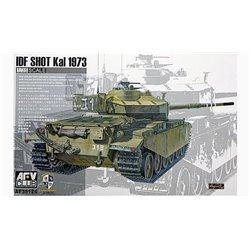 AFV CLUB AF35124 1/35 IDF SHOT Kal 1973