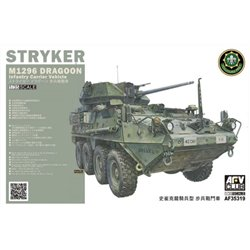 AFV CLUB AF35319 1/35 M1296 Stryker Dragoon Infantry Fighting Vehicle