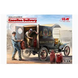 ICM 24019 1/24 Gasoline Delivery, Model T 1912 Delivery