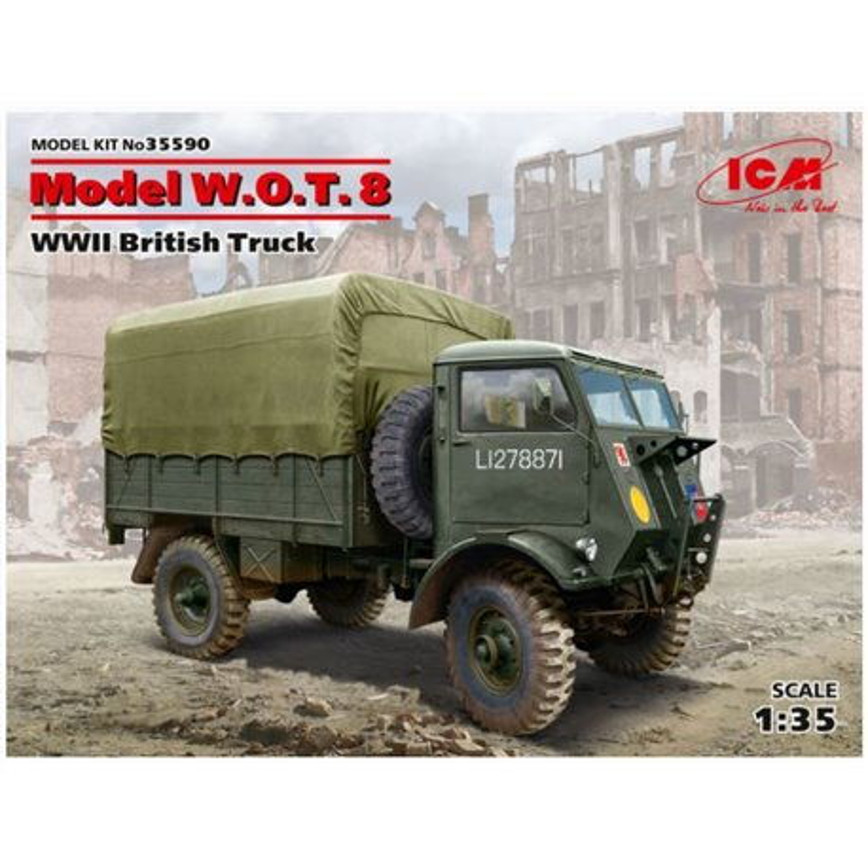 ICM 35590 1/35 Model W.O.T.8, WWII British Truck