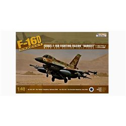 KINETIC K48009 1/48 F-16D Brakeet (with 600 Gal. fuel tank) IDF*