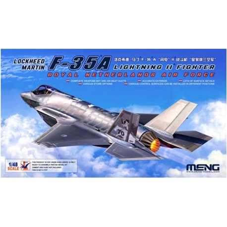 MENG LS-011 1/48 Lockheed Martin F-35A Lightning II Fighter Royal Netherl AirForce
