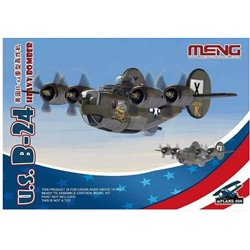 MENG mPLANE-006 U.S. B-24 Heavy Bomber (Cartoon Model)