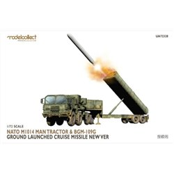 MODELCOLLECT UA72328 1/72 Nato M1014 MAN Tractor&BGM-109G Ground Launched Cruise Missile new Ver