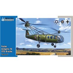 SPECIAL HOBBY SH48201 1/48 Focke Achgelis FA 223 Drache Captured