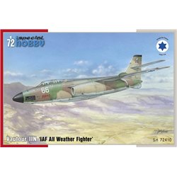 SPECIAL HOBBY SH72410 1/72 S.O. 4050 Vautour IIN IAF All Weather Fighter