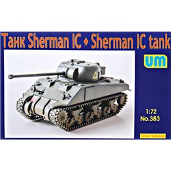 UNIMODELS 383 1/72 Medium tank Sherman IC