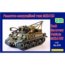 UNIMODELS 470 1/72 M32A1B3 Recovery vehicle tank