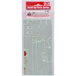 TAMIYA 12653 1/48 German Heavy Tank Tiger I Coating Sheet Set Mid Late Prod