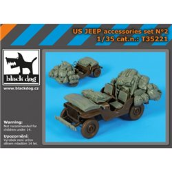 BLACK DOG T35221 1/35 LAV C 2 accessories set