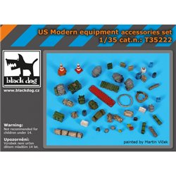 BLACK DOG T35222 1/35 LAV C 2 accessories set