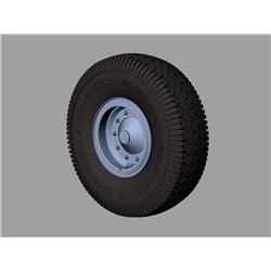 PANZER ART RE35-589 1/35 Faun L900 Road wheels (Continental)