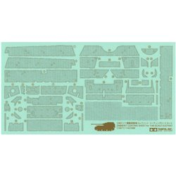 TAMIYA 12671 1/48 Zimmerit Coating Sheet for Elefant
