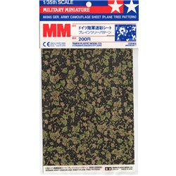 TAMIYA 66565 1/35 German Army Camouflage Sheet Plane Tree Pattern