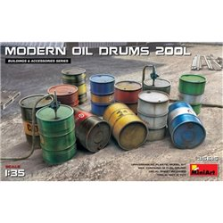 MINIART 35615 1/35 Modern Oil Drums (200l)